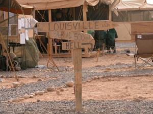 Lousiville Sign Post